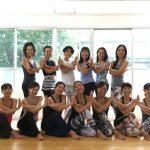 8/24 アジャストワークショップ+ハタヨガクラスを開催しました。